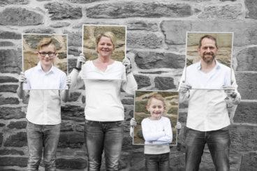 Familienaufnahmen